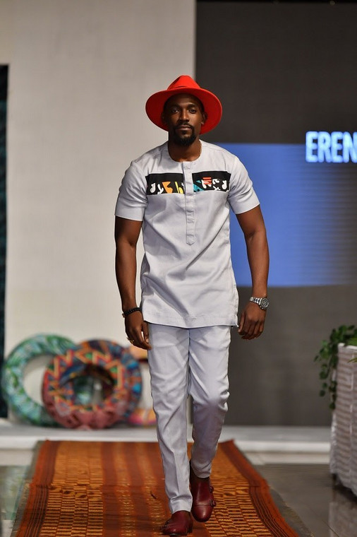 Mawuli Gavor wearing Erenti Collection