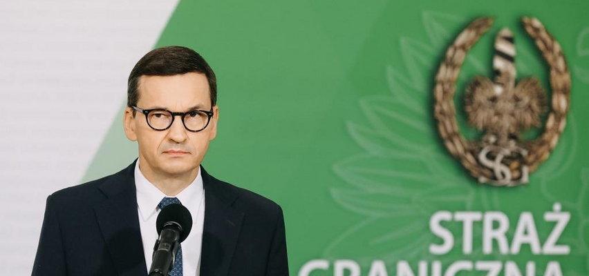 """Konferencja premiera Mateusza Morawieckiego ws. uchodźców. Mówi o """"szturmie na polską granicę"""""""