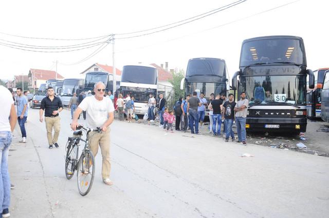 Desetina autobusa spremne su za polazak ka Hrvatskoj