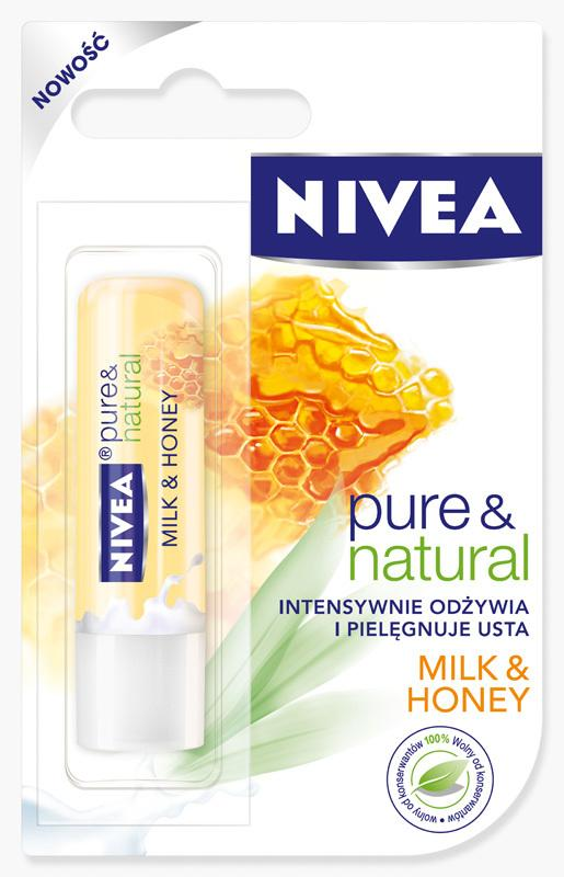 Nivea pomadka ochronna NIVEA Milk & Honey