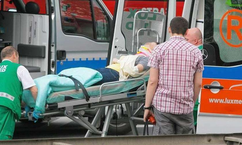 Po wypadku autobusu. 16-latek ma złamany kręgosłup