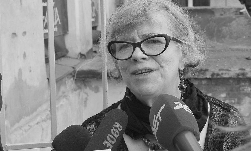Nie żyje Renata Jasińska. Miała 66 lat