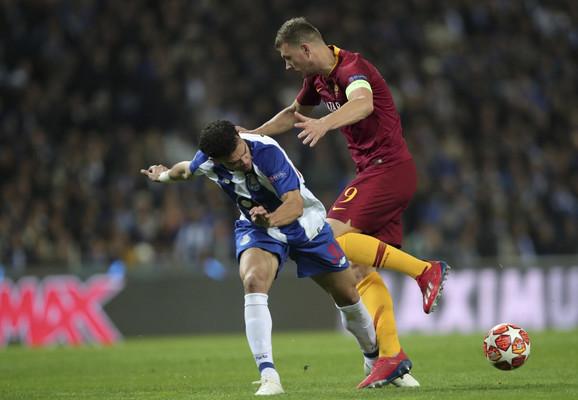 Detalj sa utakmice Porto - Roma