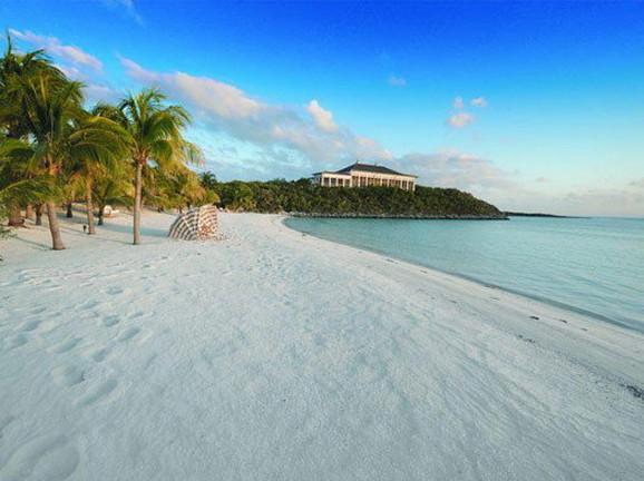Predeo ostrva na Bahamima