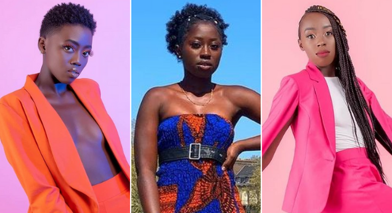 Akothee's three daughters