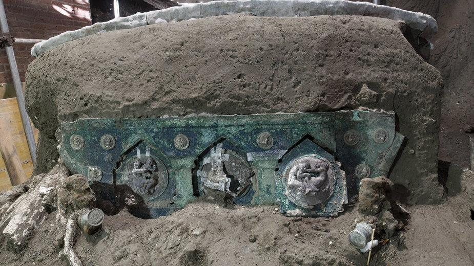 Kolejne znalezisko w Pompejach. To wyjątkowe odkrycie