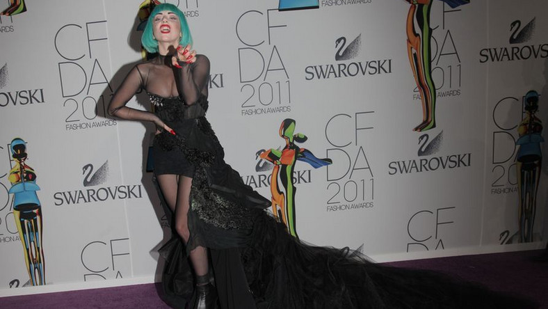 Lady GaGa na CFDA Fashion Awards