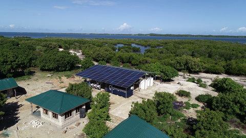solar water farm Kenya