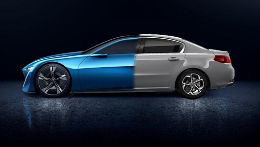 Peugeot Instinct Concept – następca 508?