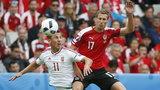 Austria - Węgry. Kopciuszek na Euro 2016 zlał faworyta