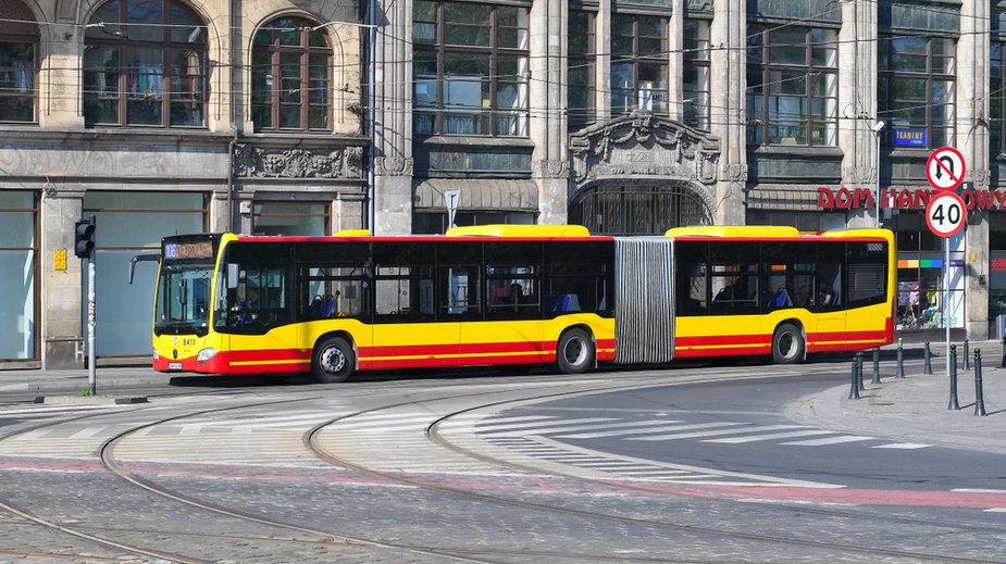 Autobus MPK we Wrocławiu (ilustracyjne)