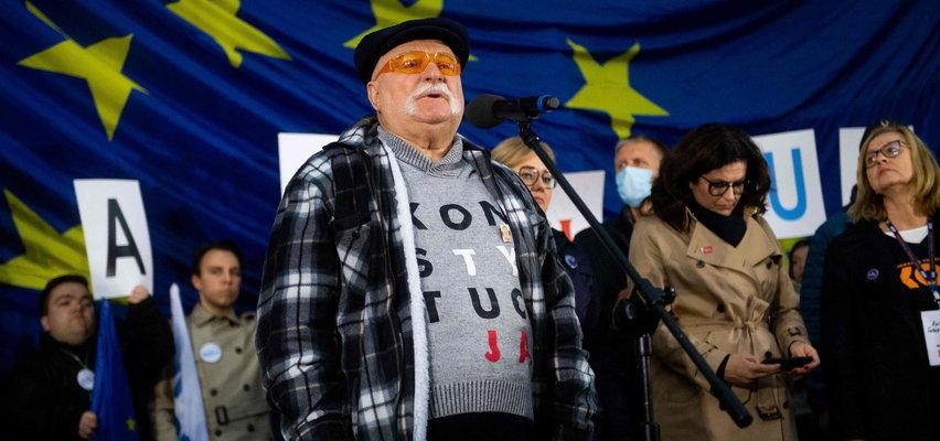 Mocne słowa Wałęsy. Mówi o wrogach Polski
