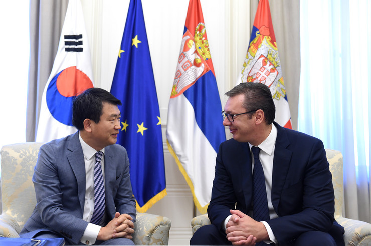 Aleksandar Vucic, koreja ambasador, Tanjug. D. Kujundžić