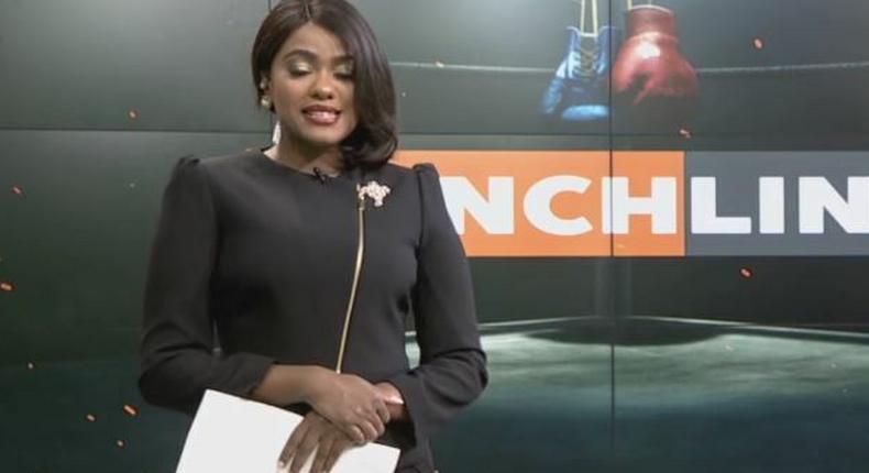 Anne Kiguta sheds tears on live TV while mourning her close friend K24 news director Daniel Chemjor