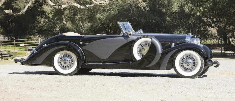 Mercedes 500 K cabrio z 1935 r.