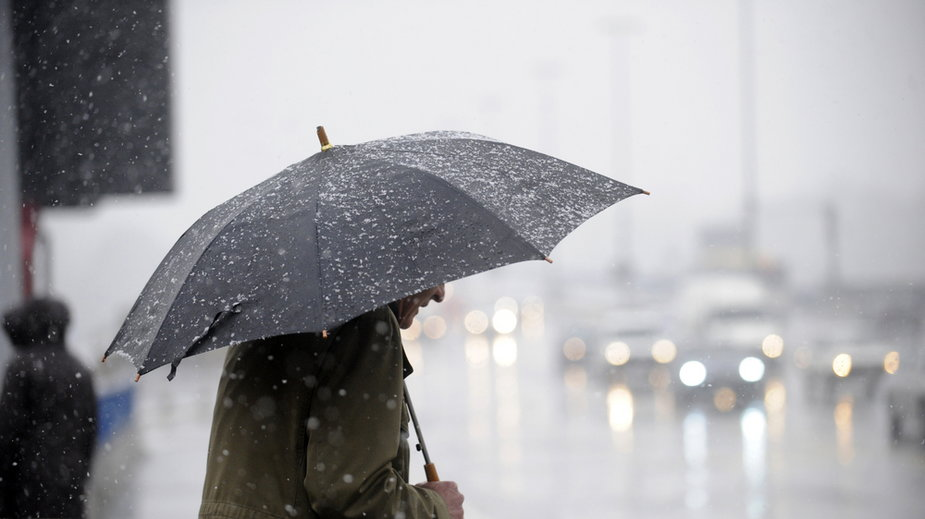 Dziś będzie intensywnie padać