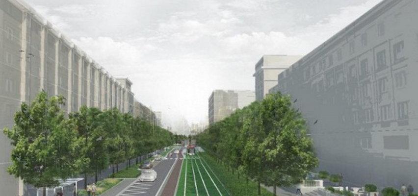 Zielona rewolucja! Już niedługo tak może wyglądać jedna z głównych ulic w centrum Warszawy