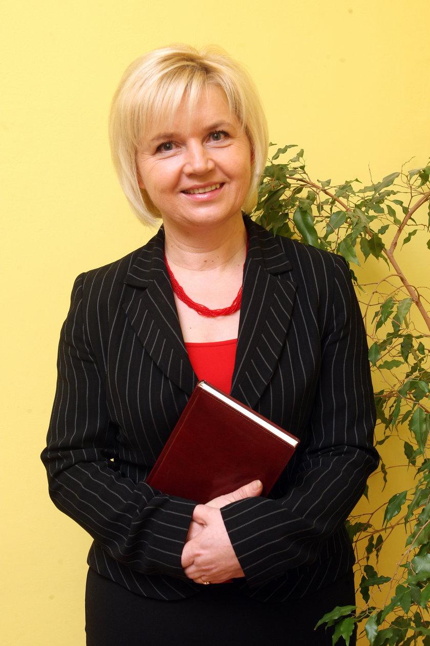 Lidia Staroń, posłanka jako jedyna zajęła się sprawą rodziny Sobieraj
