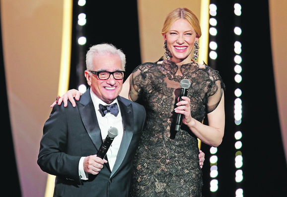 Predsednica žirija Kejt Blančet i Martin Skorseze na otvaranju 71. kanskog festivala