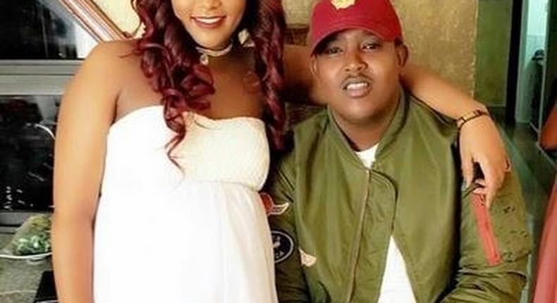 Amina Amaru and her baby's father