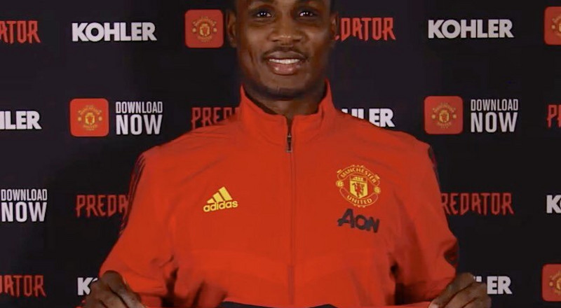 Nigerian striker Odion Ighalo banned from Manchester United training ground because of Coronavirus