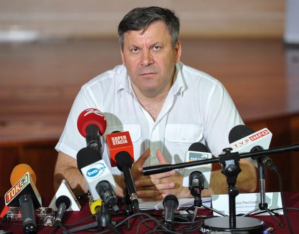 Wicepremier i minister gospodarki Janusz Piechociński