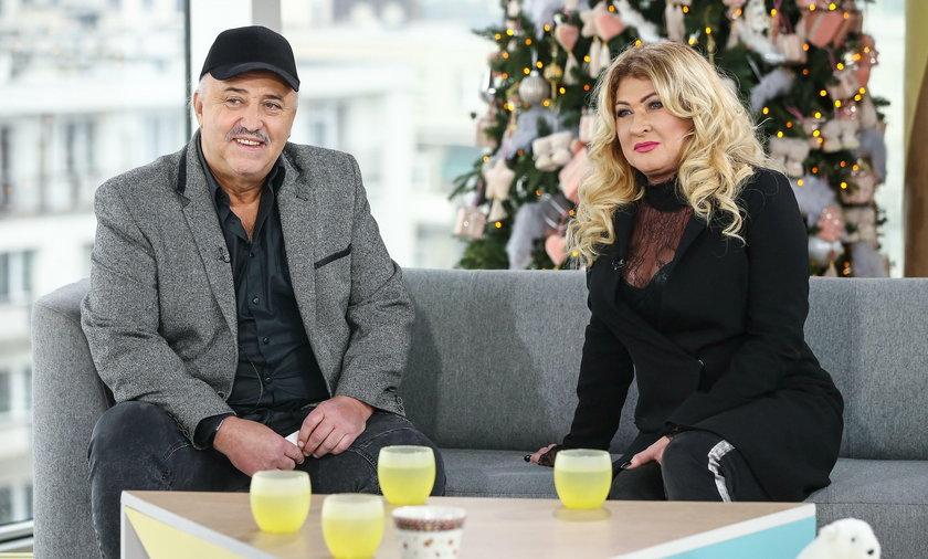 Andrzej Pietras i Beata Kozidrak
