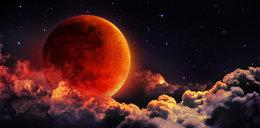 """Widzieliście kiedyś """"krwawy Księżyc""""?"""