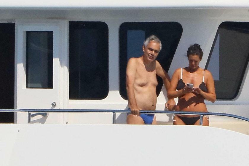 Andrea Bocelli z żoną