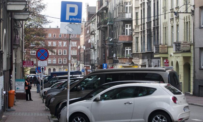drogie parkingi