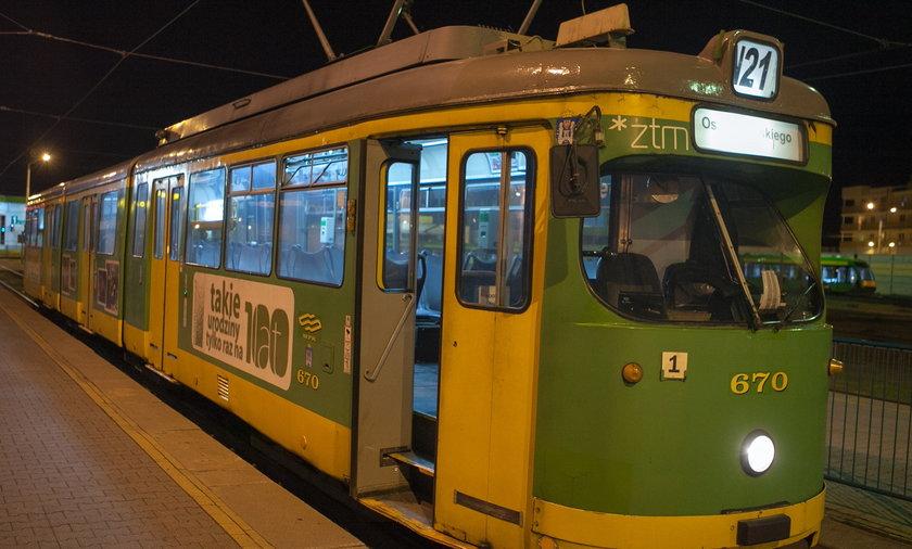 tramwaj nocny N21