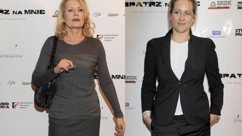 Grażyna Szapołowska czy Katarzyna Jungowska - która wygląda lepiej?