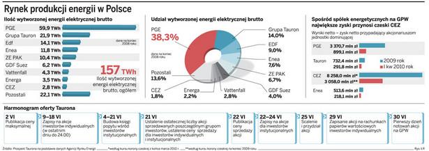 Rynek produkcji energii w Polsce
