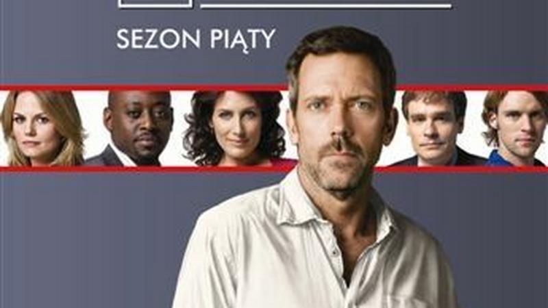 """Okładka wydania DVD 5. sezonu """"Dr House"""""""