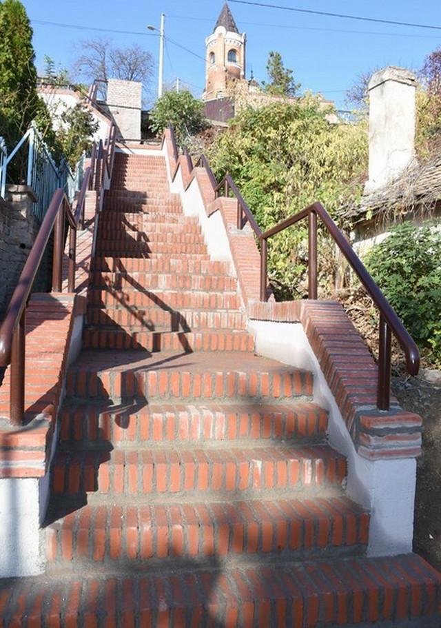 Stepenice na Gardošu