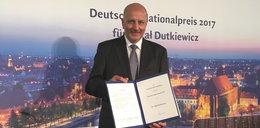 Rafał Dutkiewicz z prestiżową niemiecką nagrodą