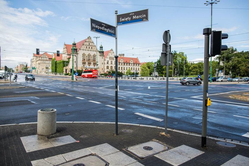 Za dwa lata tramwaj jadący ul. Towarową skręci w ul. Święty Marcin.