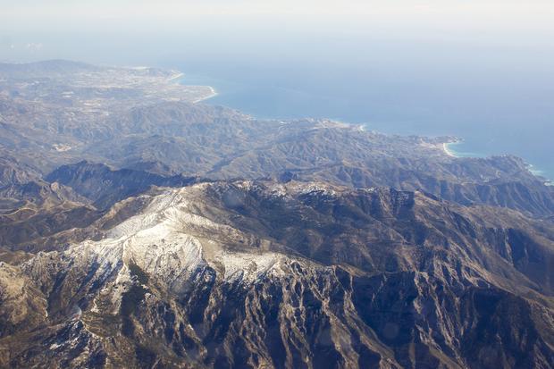 Sierra Nevada i Morze Śródziemne