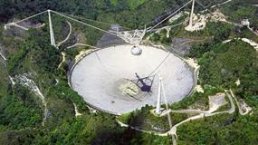Huragan Maria uszkodził radioteleskop w Arecibo