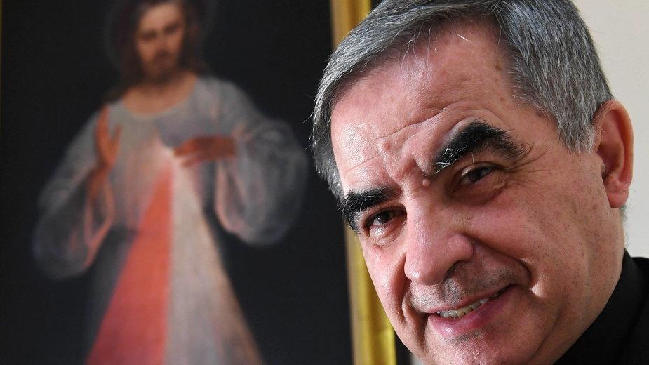 Kardynał Angelo Becciu