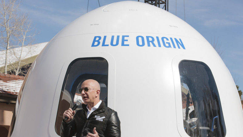 Jeff Bezos The Blue Origin Shepard System