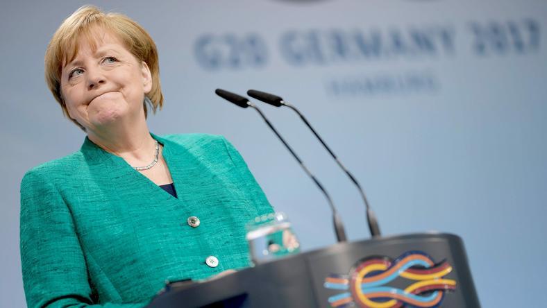 Angela Merkel na szczycie G20