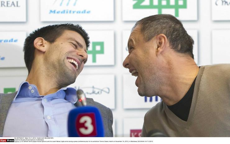 Marjan Vajda, Novak Đoković