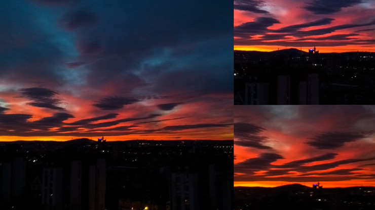 Nebo nad Beogradom