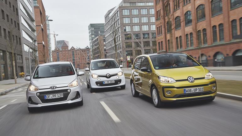 Czy Hyundai sięgnie po złoto? Porównanie: i10 kontra Renault Twingo i VW Up!
