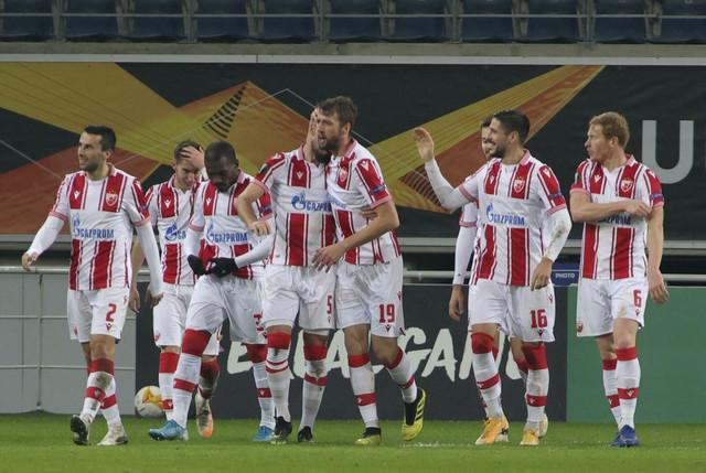 Detalj sa meča Gent - FK Crvena zvezda