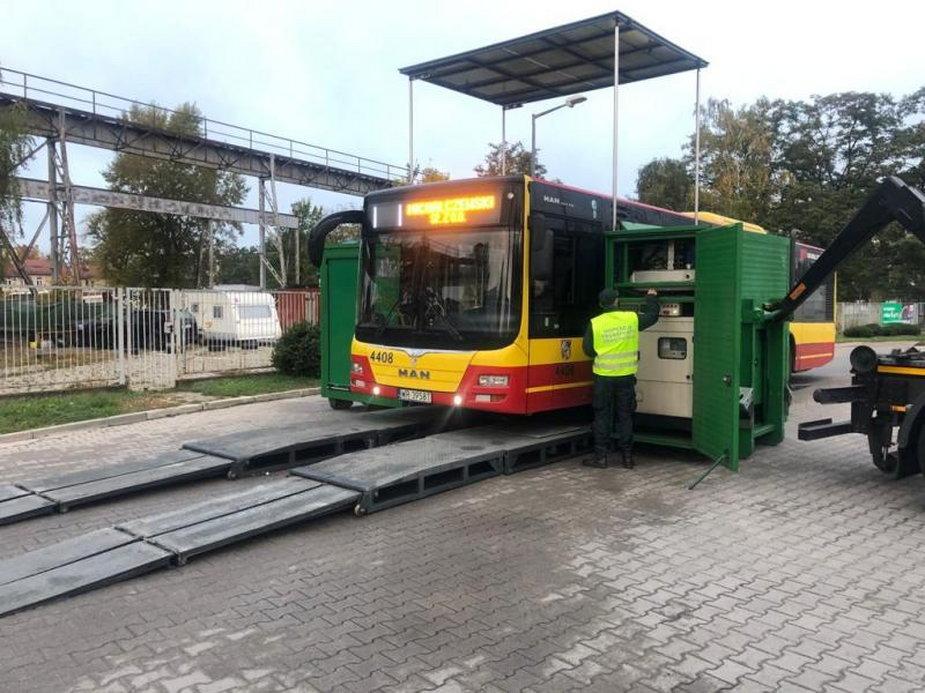 Kontrola autobusów MPK Wrocław