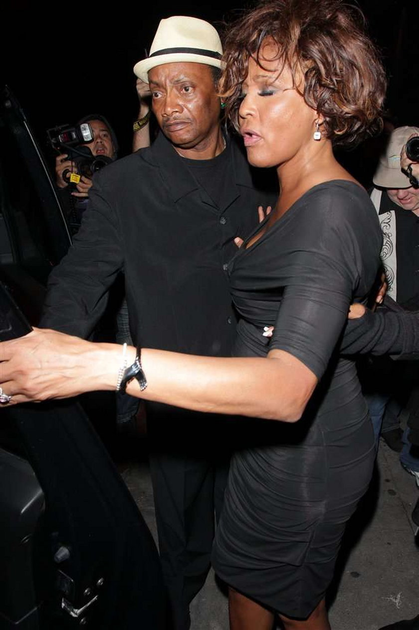 Whitney Houston na dzień przed śmiercią! ZDJĘCIA