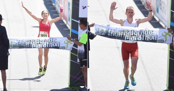 Pobednici Beogradskog maratona