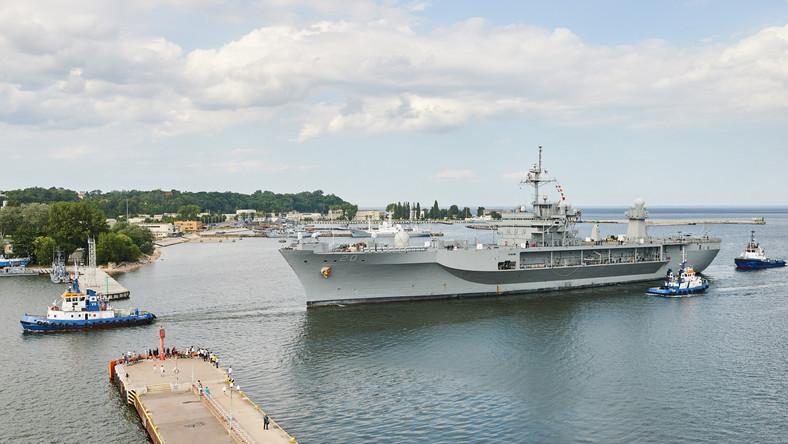 Jednostka zacumowała po południu przy Nabrzeżu Polskim. Nie będzie udostępniana do zwiedzania...